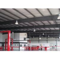 Quality Steel Framing Car Showroom Building Exhibition Hall With Glass Curtain for sale