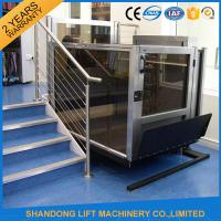 Quality Indoor Automatic Wheelchair Platform Lift For Homes Elder / Disabled People for sale