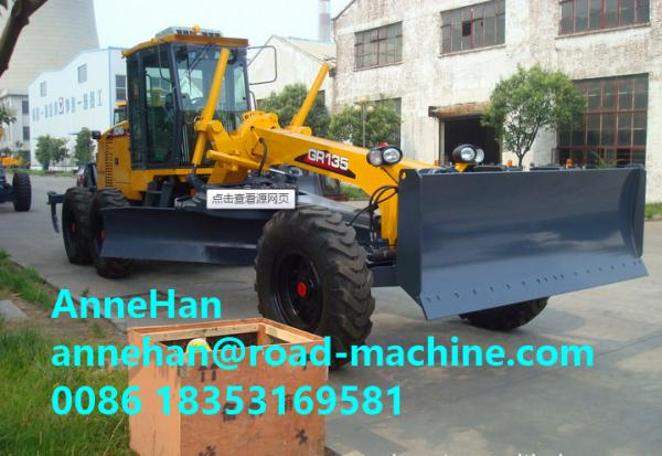 Buy GR135 XCMG Grader With Cummins Engine , Rated Speed 100 / 2200kw/rpm at wholesale prices
