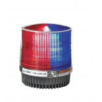 China Red And Blue Police Beacon Light Magnet Fixation , Led Rotating Beacon Lights on sale