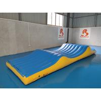 Buy cheap High Cost Effective Floating Inflatable Water Park Games Slipping Wave from wholesalers