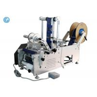 Quality Manual Table Top Bottle Labeling Machine  ,  Round Plastic Bottle Labeling Machine  for sale
