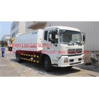 Quality 4 vertical cylinder Sweeper Garbage Compactor Truck Euro III standard Energy-Saving Euro, road cleaning truck for sale