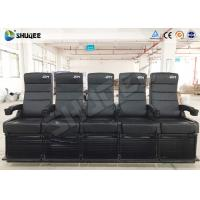 Quality 4D Theater Seats / 4D Movie Theater Equipped With 7.1 Audio System for sale