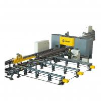 Buy cheap Super High Speed Cnc Beam Drill Line CNC Beam Drilling And Marking Machine from wholesalers