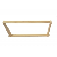Quality Wooden Bee Frame Of Langstroth Or Dadant Style for sale
