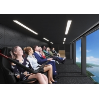 Quality 360 Degree Vision Flying Theater Experience With 72 Electric Motion Seats for sale