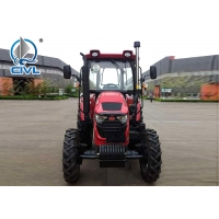 Quality 80 hp 11400 kg 4WD Compact Farm Tractors 60.3kw , 1000R / Min for sale