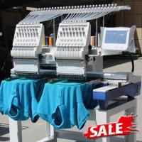 Quality Two Heads Wonyo Computer 3D Embroidery Machine For Caps , Long Life Time for sale