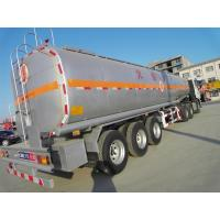 Quality Water Milk Or Oil Tank Tanker Semi Trailer Trucks 30000L 3 Axle Aluminum Or Stainless Steel for sale