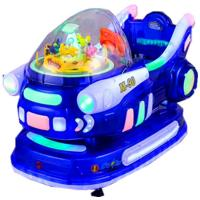Buy cheap Game Center Electronic Kiddie Ride Machines Automatically Stops from wholesalers