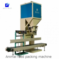 Quality 50kg Paddy Industrial Salt Lentil Lotus Seeds Packing Machine With PLC Control for sale