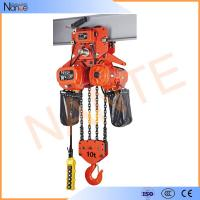Quality Heavy Load Electric Chain Hoist For Stage Hoist , Electric Wire Rope Hoists for sale