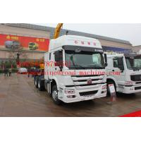 Quality SINOTRUK Road Wrecker Tow Truck / 6x4 Tow Truck 35T Strong Operation System for sale