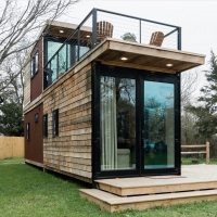 Quality Prefabricated Folding Container House Home Mobile Portable Collapsible Container House for sale