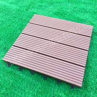 Quality Wood-Plastic Composite Flooring Technics and Engineered Flooring Type eco wpc deck tiles for sale