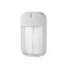 Buy cheap Fine Mist Pump Sprayer PETG ABS Bottle 30ml 40ml Square Travelling Bottle from wholesalers