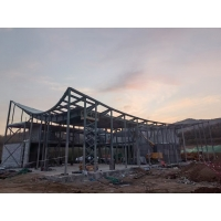 Quality Fashsional Designed Architectual Structure Steel Q355B Grade Fabrication And Construction Building for sale