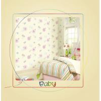 China Cute Cartoon Wallpaper For Kids With Heavy / Deep Embossed on sale