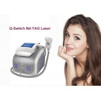 Buy cheap Portable qswitch nd yag (nd-yag) laser tattoo removal machine, q switched nd yag from wholesalers