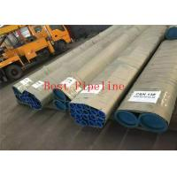 Quality ASTM A333 Grade 16 Heavy Wall Seamless Pipe , Mild Steel Seamless Tube Long Lifespan for sale