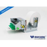 Buy cheap Queue machine system mini USB kiosk thermal printer module with presenter for from wholesalers