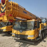 Quality CIVL 50 Tons Hydraulic Mobile Truck Telescopic Boom Crane Especialy For Exporting for sale
