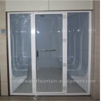 Quality Easy Install Home Steam Room , Acrylic Wet Steam Room Equipment 2-6 Person for sale