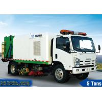 Buy cheap 5600L Road Sweeper Truck Truck Special Purpose Vehicles from wholesalers