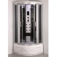 Quality Comtemporary Steam Room Shower Combo With Whirlpool Tub ABS Tray Material for sale