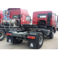 Quality Desiel Fuel Prime Mover Truck , Sinotruk Howo 4x2 6x4 371hp Tractor Tow Truck for sale