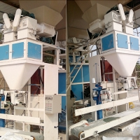 Quality 3000*1200*3200mm 240bag/Hour 25kg Building Materials Packing Machine for sale