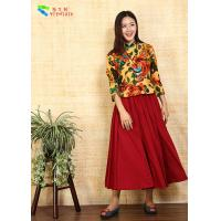 Quality Long Sleeve Chinese Ladies Blouses for sale