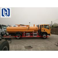 Buy cheap Self Dumping Sanitation Garbage Truck / Sewage Suction Truck 6x4 336hp For City from wholesalers