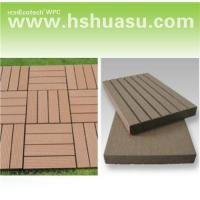 Quality Wpc decking tile/DIY tile/outdoor flooring 30S30 for sale