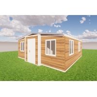 Buy cheap Prefabricated Expanding Container Homes Prefab Beach Hut Tiny Home Apartments from wholesalers