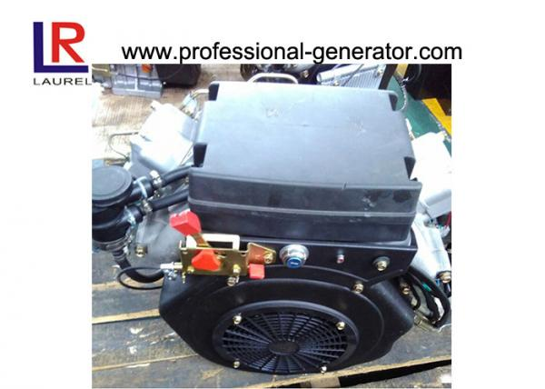 Buy Electric start Small 22HP Twin Cylinder Diesel Engine with 4-stroke at wholesale prices