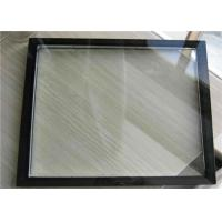Quality Low E Triple Glazed Insulated Glass , Double Glazed Glass PanelsFor Airports for sale
