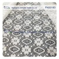 Buy cheap Elastic Lace Fabric of Spandex & Nylon with Rhombic Little Flower Pattern from wholesalers