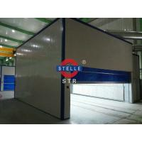 China Temporary Truck Spray Paint Booth / Car Spraying Oven Full Downdraft Design on sale