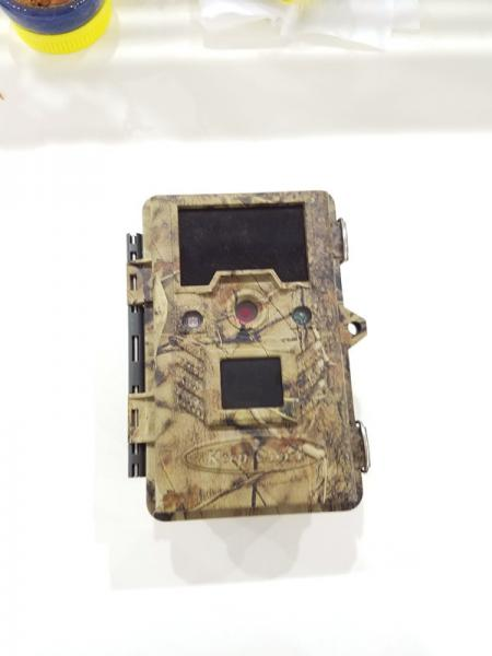 Buy IP67 Animal Observation Camo Hunting Trail Camera , KG762-16m 850nm And 0.4s Triger Time at wholesale prices