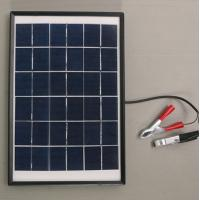Buy cheap Economic Efficiency Monocrystalline Silicon Solar Power Panels Roof Mounts 10W from wholesalers