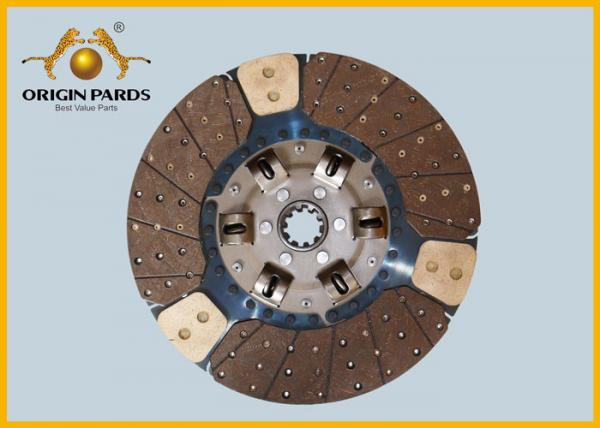 Buy ISUZU CYZ Clutch Disc 430*10 1312408921 Friction Facing Three Cooper-bases at wholesale prices