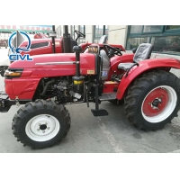 Quality CIVL1000/100HP/2300r/min Farmer Tractor 4 Wheel Drive Tractors Red Color for sale