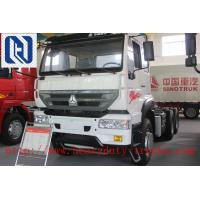 Quality 10 Tires 6*4 Prime Mover Truck With HW79 Cabin Low Fuel Consumption for sale