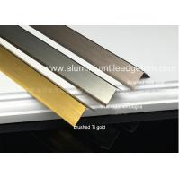 Quality Durable Brushed Aluminum Corner Guards Equal Angle Extrusion Profile for sale