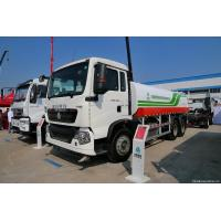 Quality Euro 2 SINOTRUK Liquid Tanker Truck For Drinking Water 6x4 290hp 20 Ton for sale