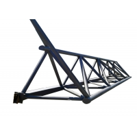Quality Fabricated House Galvanized Prefabricated Steel Truss for sale