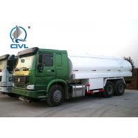 Quality SINOTRUK HOWO OIL TANK Truck 6 X 4 371HP 12.00R20 Radial tire 20-50T Capacity with OIL PUMP for sale
