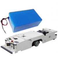 Buy cheap High Quality AGV Lithium Batteries 24V 60AH , LiFePO4 Battery / Lipolymer from wholesalers
